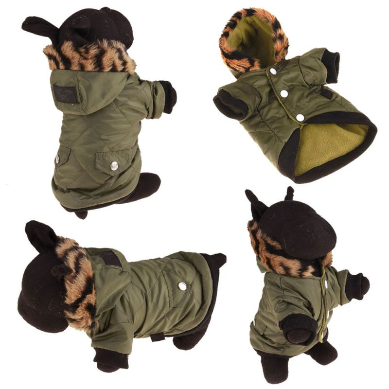 Pet-Small-Dog-Waterproof-Warm-Coat-Cat-Puppy-Hoodie-Thick-Jacket-Clothes-Apparel