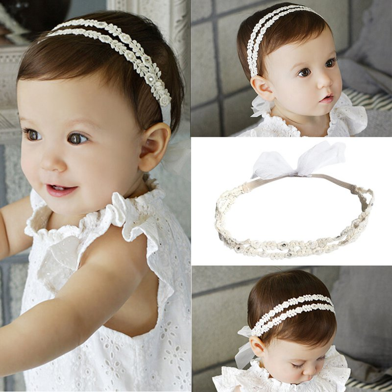 Newborn Kids Baby Girls Toddler Flower Headband Hair Band Headwear Accessories
