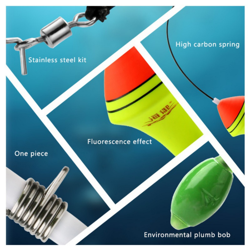 Outdoor Portable Automatic Fishing Float Fishing Bobber Fishing Tackle Tools Set