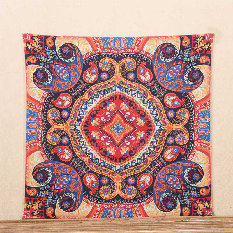 Retro-Indian-Mandala-Tapestry-Hippie-Wall-Hanging-Bohemian-Bedspread-Dorm-Decors