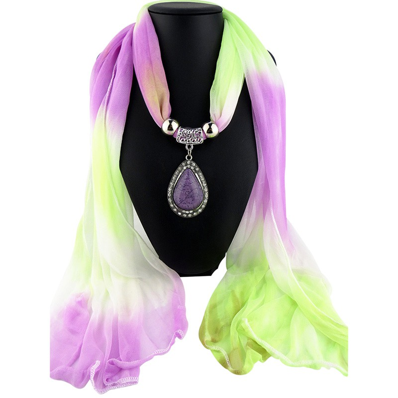 charms scarves shawls stole jewelry charm scarf