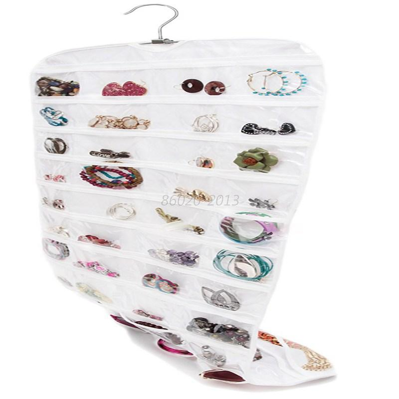 80-Pockets-Closet-Jewelry-Earrings-Brooch-Hanging-Storage-Organizer-Bags-Holder