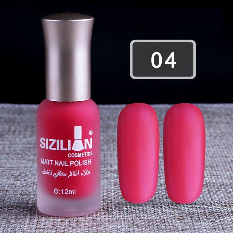 Scrub Matte Nail Polish Non-Toxic Long-lasting Nail Art Varnish ...