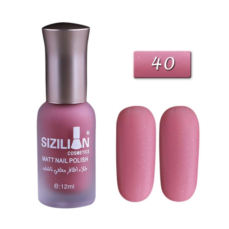 Quick-Dry Long-lasting Scrub Matte Nail Art Makeup Varnish Nail ...