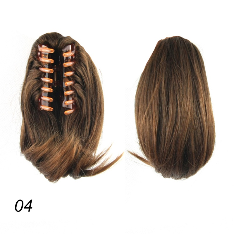 One Piece 10 Tie Up Ponytail Straight Tail Clip In Hair Extension