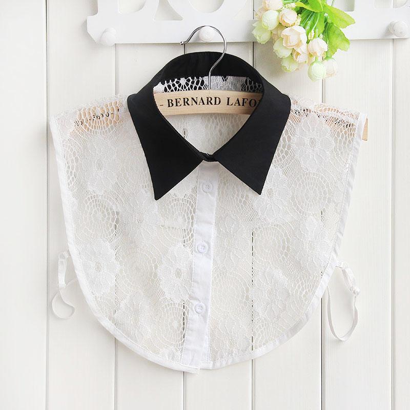 Unisex-Women-Lady-Girl-Party-Office-Fake-False-Collar-Handmade-Choker-Necklace