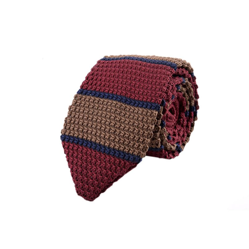 Fashion-Men-039-s-Slim-Skinny-Woven-Tie-Knit-Knitted-Tie-Necktie-Narrow-Ties-Classic