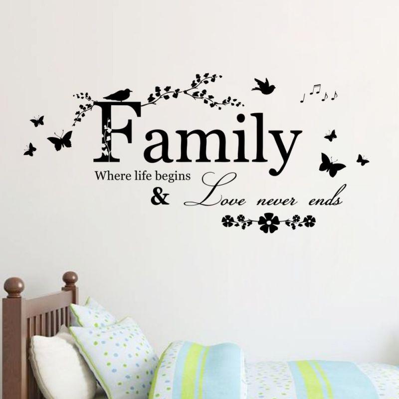Removable-Butterfly-Decals-Vinyl-Art-Mural-Wall-Sticker-Kids-Girl-Room-Decor-AU