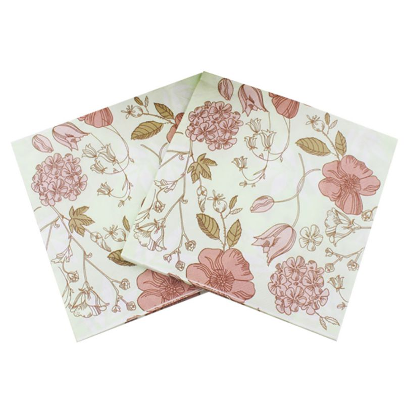 20pcs wedding flower paper napkin for party supplies party napkins 20pcs wedding flower paper napkin for party supplies mightylinksfo