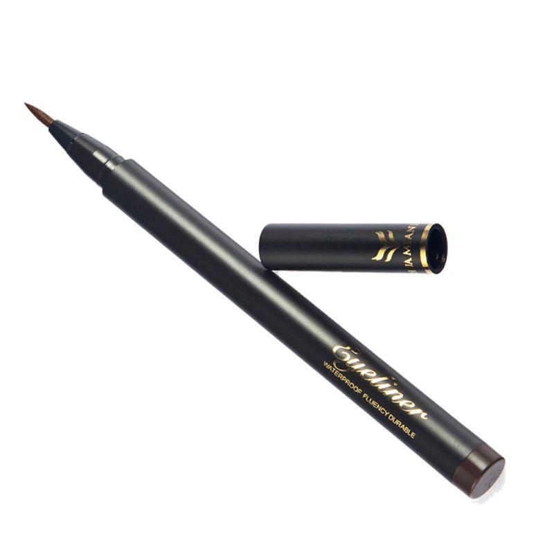 soft black brown liquid waterproof pencil eyeliner eye crayon makeup eye liner ebay. Black Bedroom Furniture Sets. Home Design Ideas