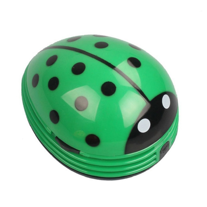 Mini Ladybug Desktop Coffee Table Vacuum Cleaner Dust