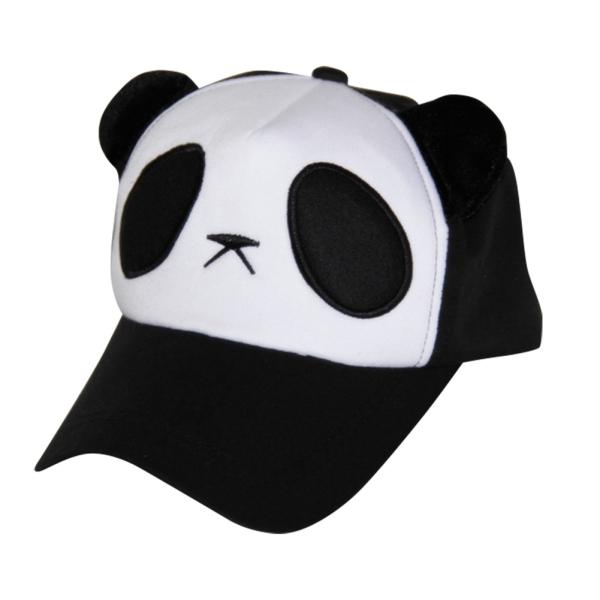 giants baseball panda hat kung fu cap women fashion cartoon