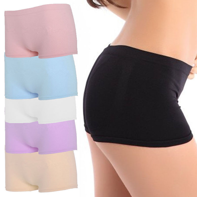 Girl Seamless Club Dance Exercise Activewear Yoga Shorts