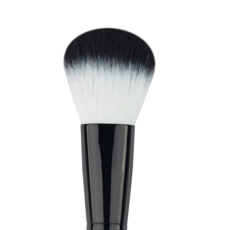 Negro-Makeup-Cosmetic-Powder-Brush-Kabuki-Blush-Foundation-Cara-Cepillos-Tool