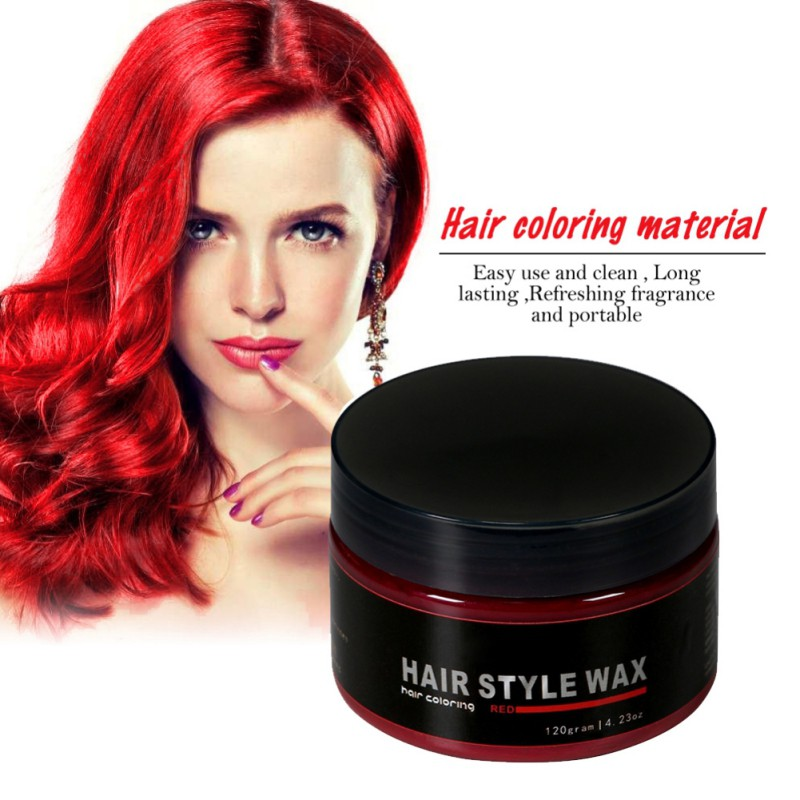 Styling Hair Wax Enchanting Pop Men Women Styling Hair Wax Pomade Hair Style Gel Natural .