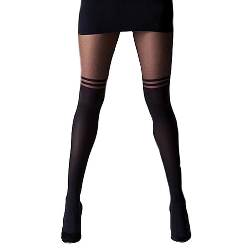 AU-Fashion-Women-039-s-Mesh-Net-Fishnet-Stockings-Pantyhose-Black-High-Waist-Tights