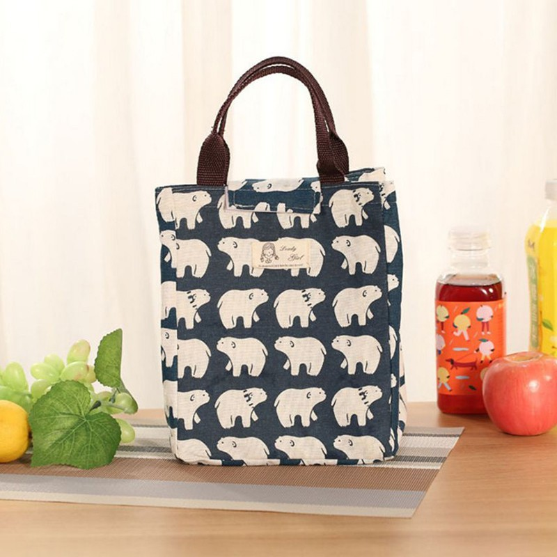 Portable Insulated Thermal Cooler Lunch Box Carry Tote Storage Bags Picnic Case