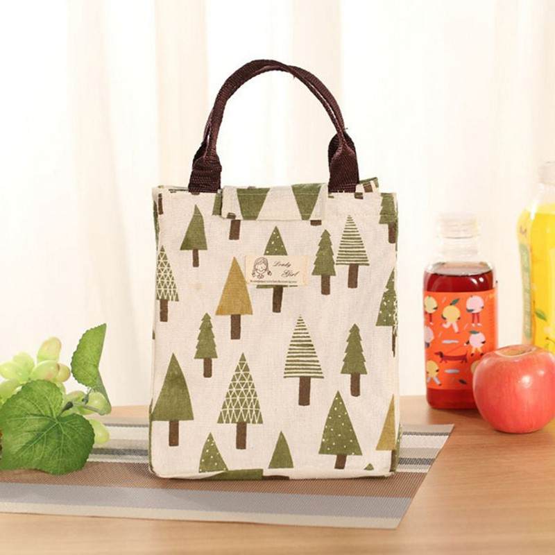 portable tote thermal insulated lunch box bag cooler picnic pouch bento ebay. Black Bedroom Furniture Sets. Home Design Ideas