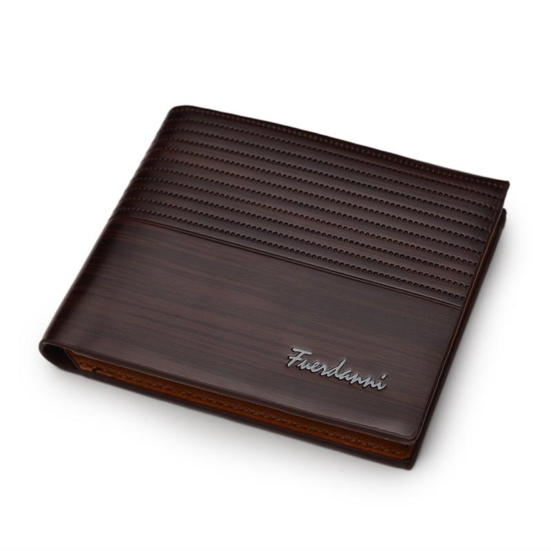 AU-Stylish-Men-039-s-Faux-Leather-Bifold-Purse-ID-Card-Holder-Vintage-Clutch-Wallet