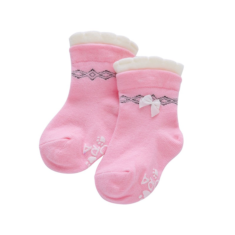 BOBORA Newborn Baby Boy Girl Cartoon Ankle Socks Knee High