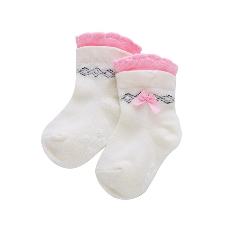 Newborn Baby Boy Girl Non slip Ankle Socks Knee High