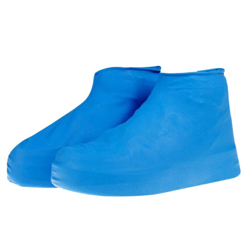 unisex anti slip waterproof shoes cover reusable raincoat