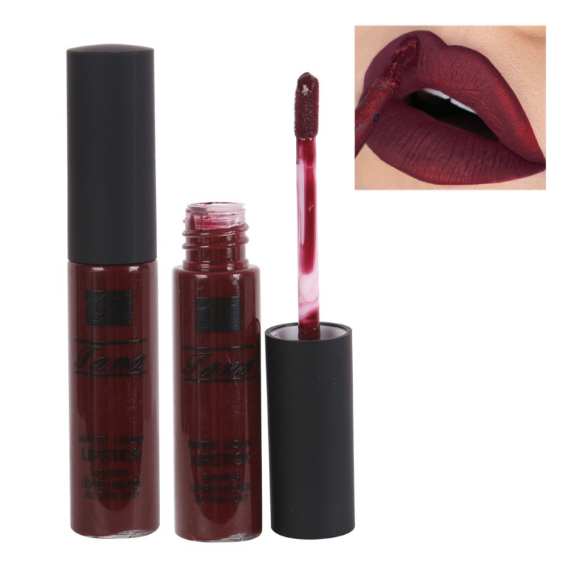 12 colors long lasting lippenstift waterproof lip liquid. Black Bedroom Furniture Sets. Home Design Ideas