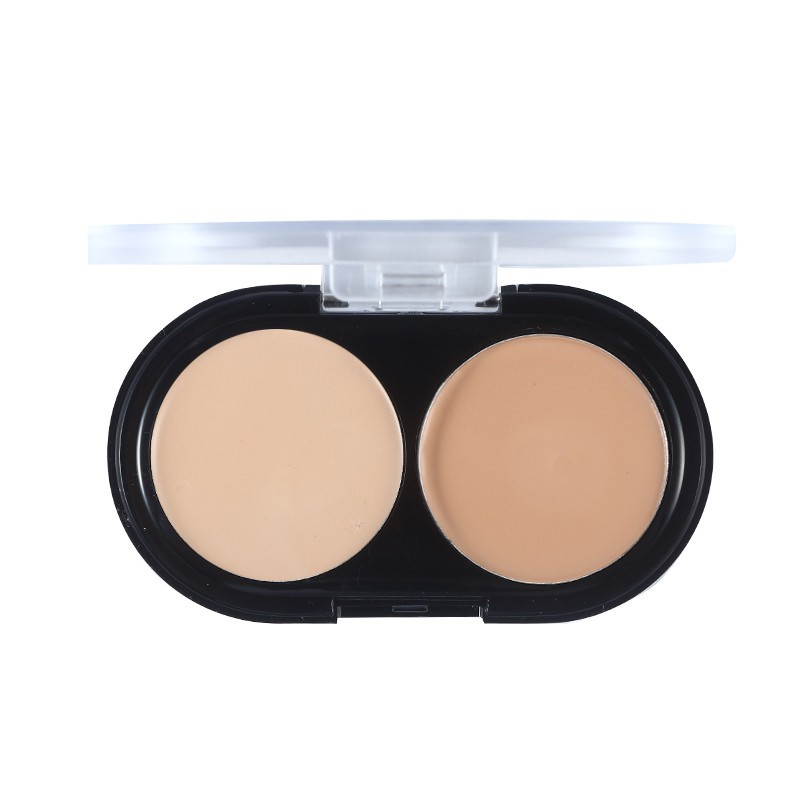 how to wear concealer with powder foundation
