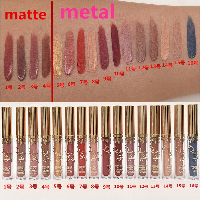women lasting waterproof lip liquid pencil lipstick matte lip gloss lippenstifte ebay. Black Bedroom Furniture Sets. Home Design Ideas