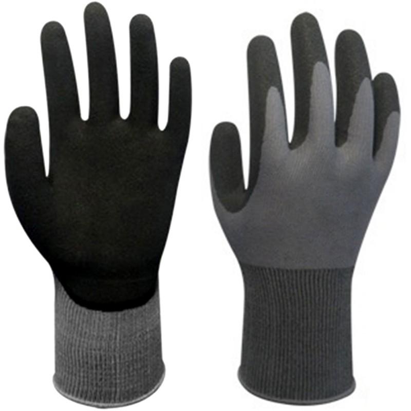 1 Pair Unisex Labor Latex Non-slip Work Garden Gloves ...  Pair