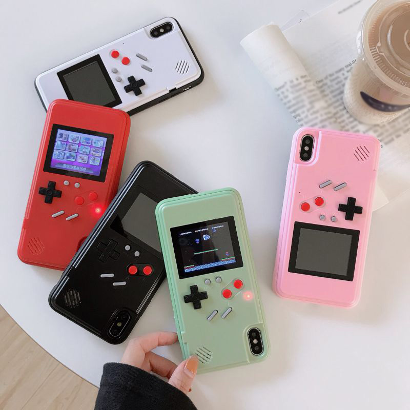 Gameboy Phone Case 36 Retro Video Game  Display Cover For iP