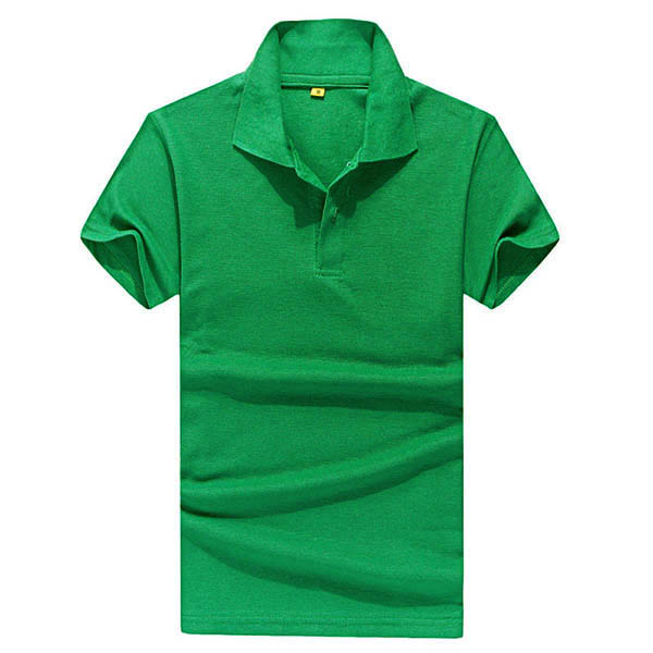 Boys mens lapel polo shirt short sleeve slim fit solid for Mens colored t shirts