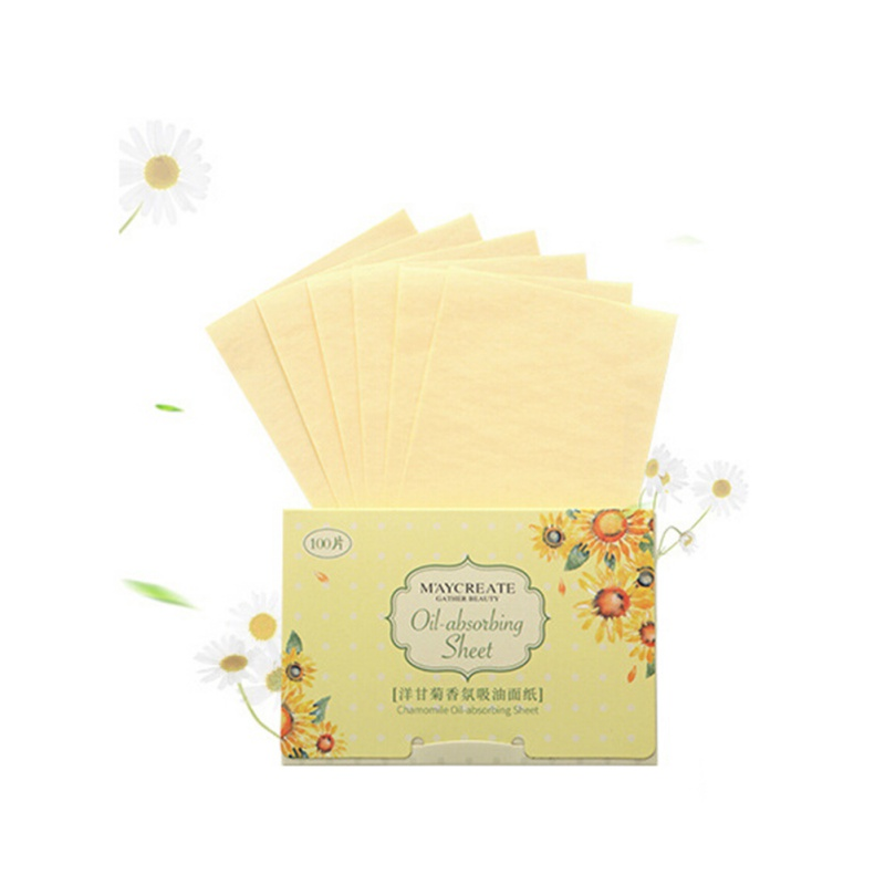100pcs-Unisex-Facial-Oil-Absorbing-Blotting-Film-Paper-Oil-Remover-Clean-Tissues