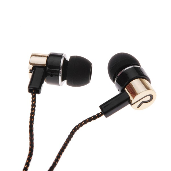 3.5mm In-Ear Earphones Stereo Headphones Super Bass Sports Headset Metal Earbuds