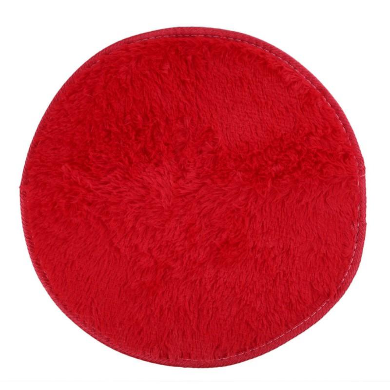Indoor Fluffy Area Rug Soft Comfy Round Floor Mat Plush