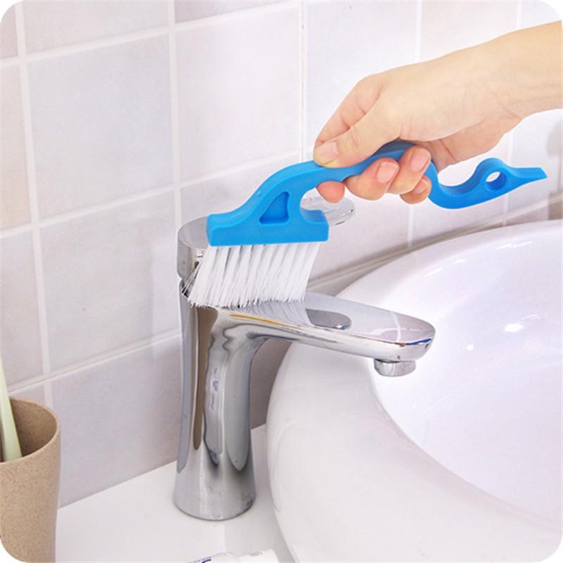 2pcs Plastic Clean Brush Window Shower Door Sliding Door