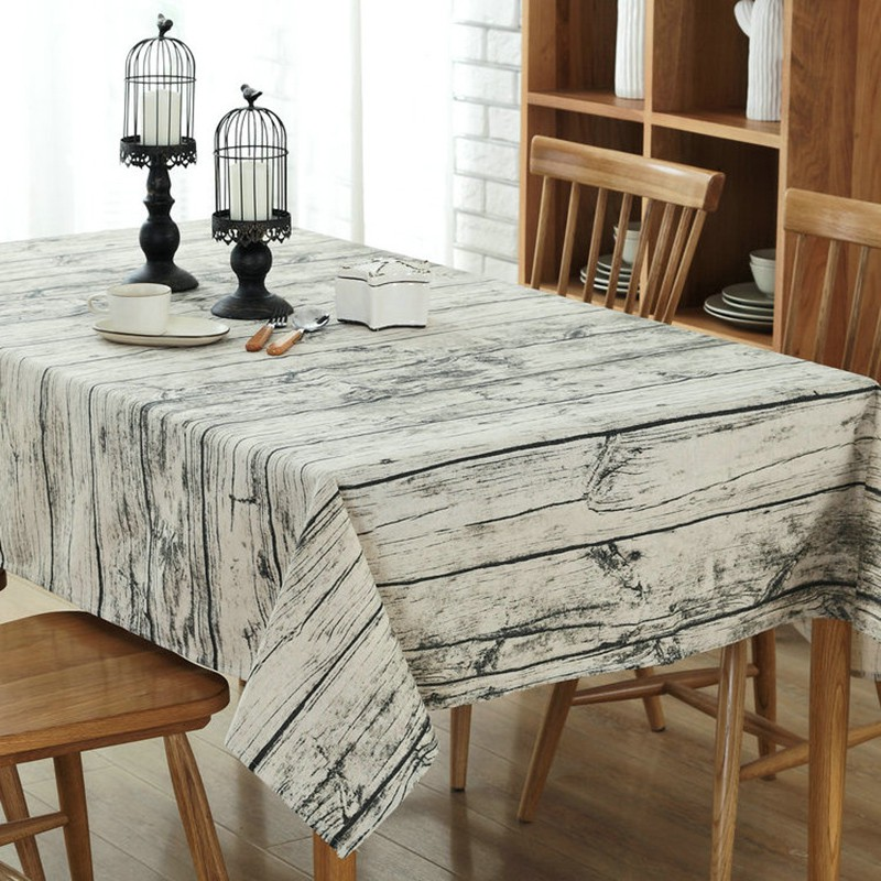 Country style floral printed table covers kitchen dining for Country style kitchen table