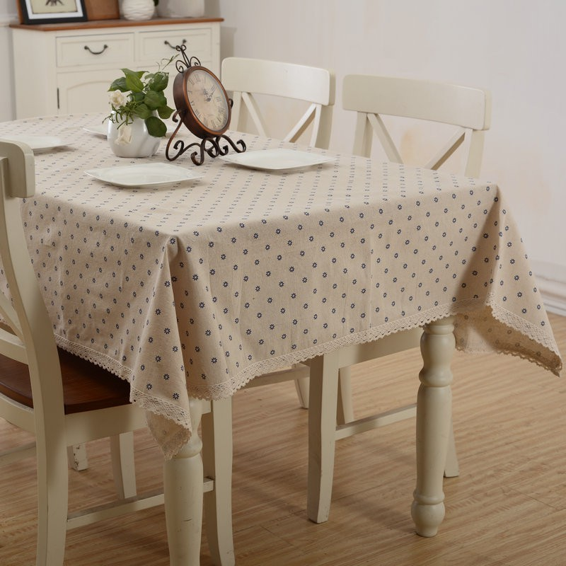 Dining Room Table Cover Pads: Country Style Floral Printed Table Covers Kitchen Dining
