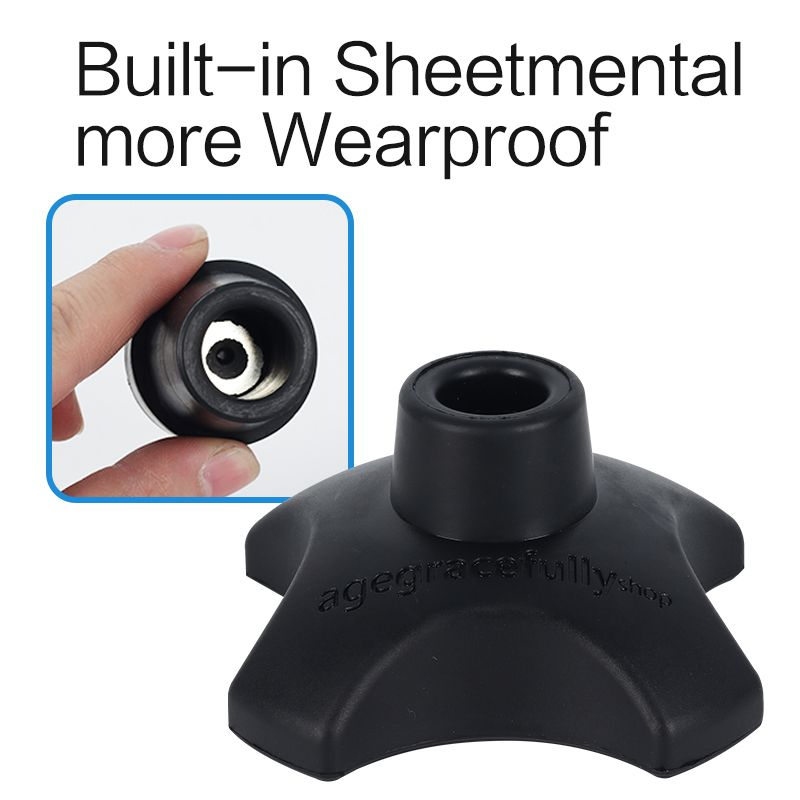 19mm-Walking-Stick-End-Tripod-Cane-Tip-Self-Standing-Rubber-Non-Slip-End-Bott thumbnail 20