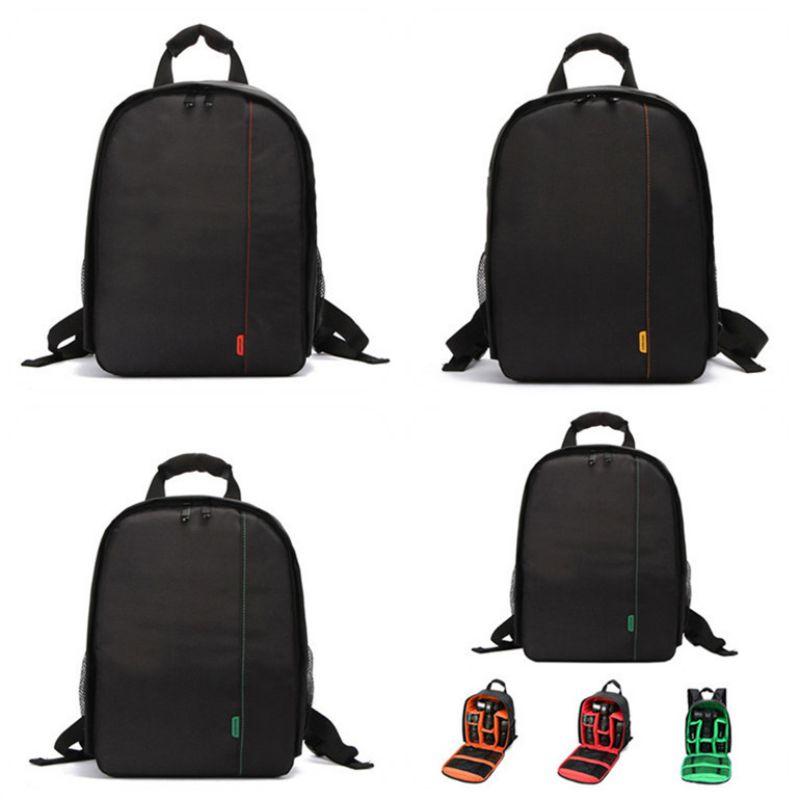 Waterproof SLR DSLR Camera Bag Shockproof Case Backpack For