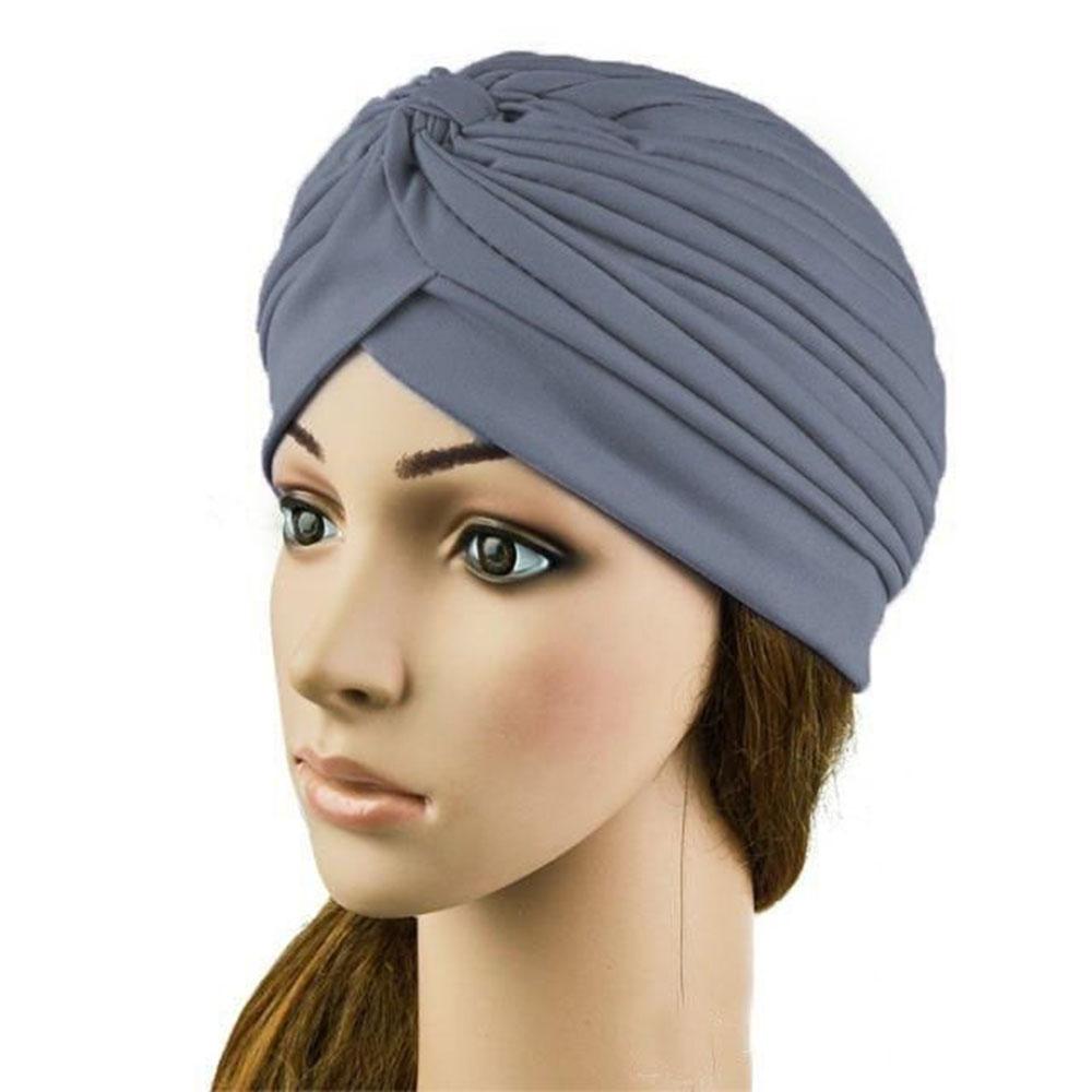 femmes turban cap head wrap band bandana hijab indian hat cap chapeaux ebay. Black Bedroom Furniture Sets. Home Design Ideas