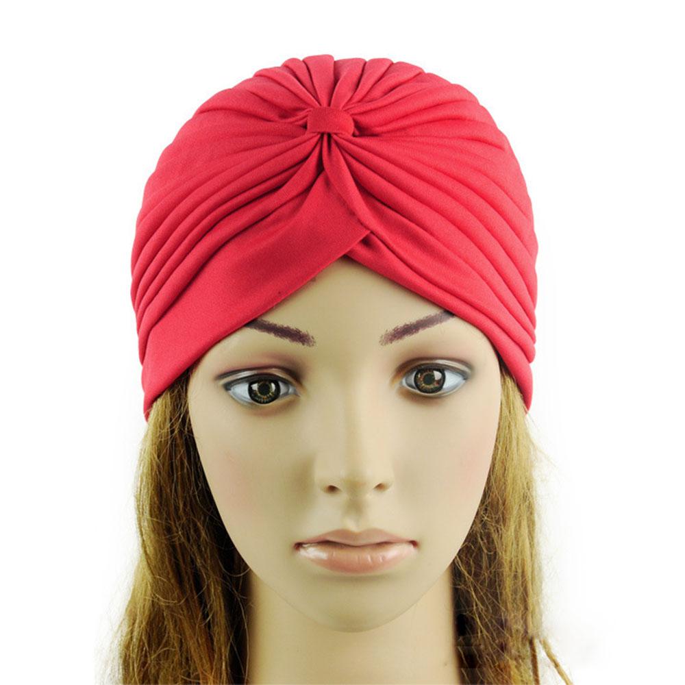 Multi-Color Women Turban Cap Head Wrap Band Bandana ...