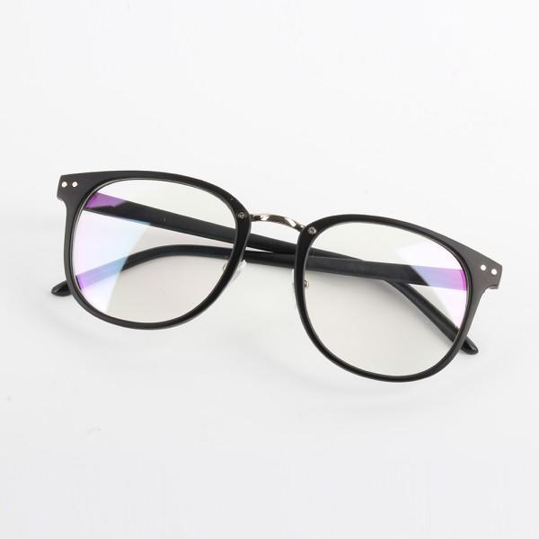 Clear Frame Glasses Boots : Unisex Women Men Optical Clear Lens Glasses Round Frame ...