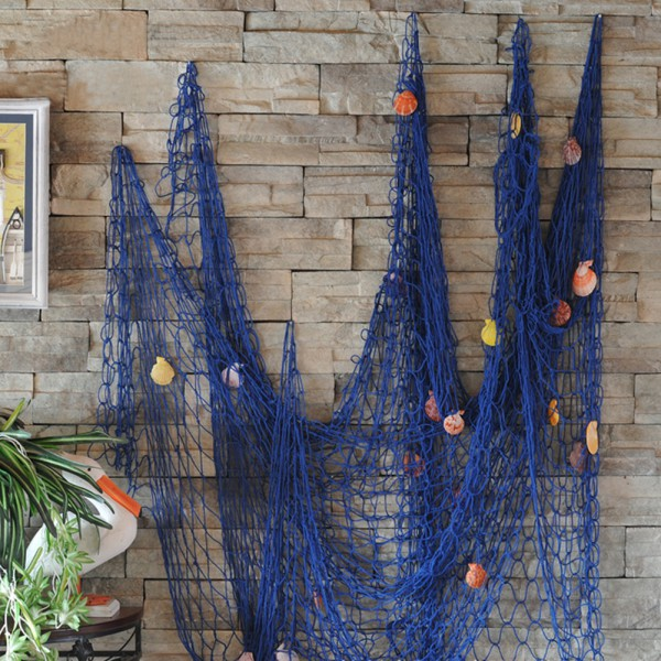 Nautical Decorative Fishing Net Seaside Wall Beach Party