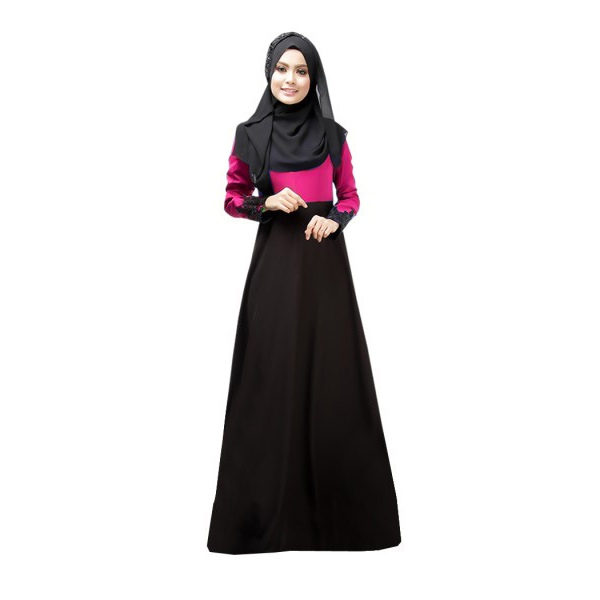 Kaftan Abaya Islamic Muslim Women's Vintage Cocktail Long Sleeve ...