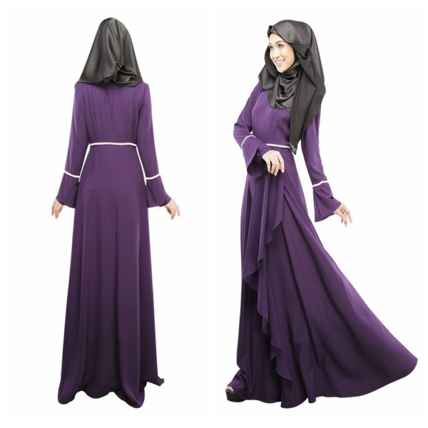 Kaftan Abaya Islamic Muslim Women\'s Vintage Cocktail Long Sleeve ...