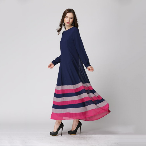 Long sleeve maxi dress on ebay