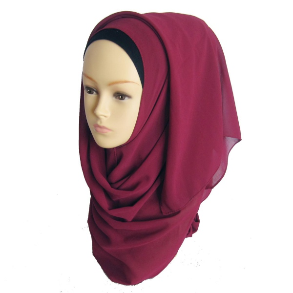 new muslim chiffon islamic headwear scarf arab