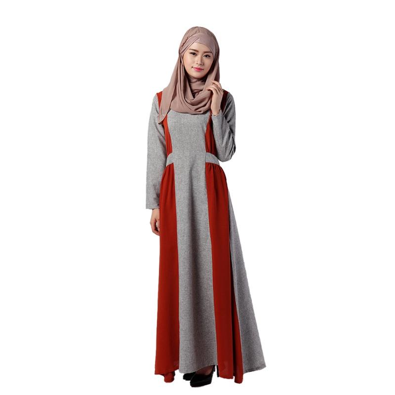 Women islamic muslim middle east long dress ethnic traditional women islamic muslim middle east long dress ethnic sciox Images