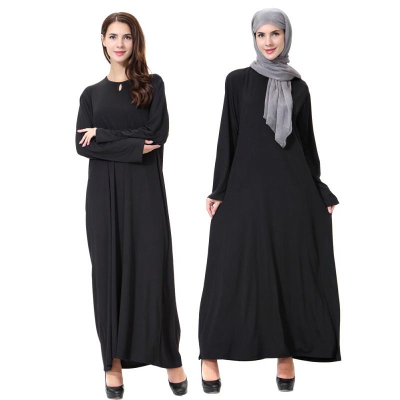 muslim long sleeve jilbab women formal cocktail abaya